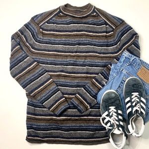 Vintage Grandpa Knit Sweater Gap